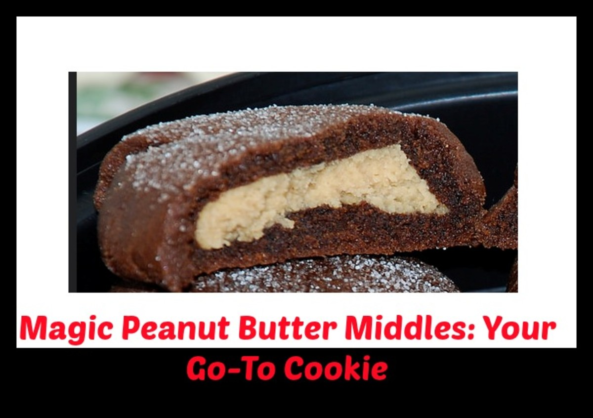 Magic Chocolate and Peanut Butter Middles Are a Family Favorite