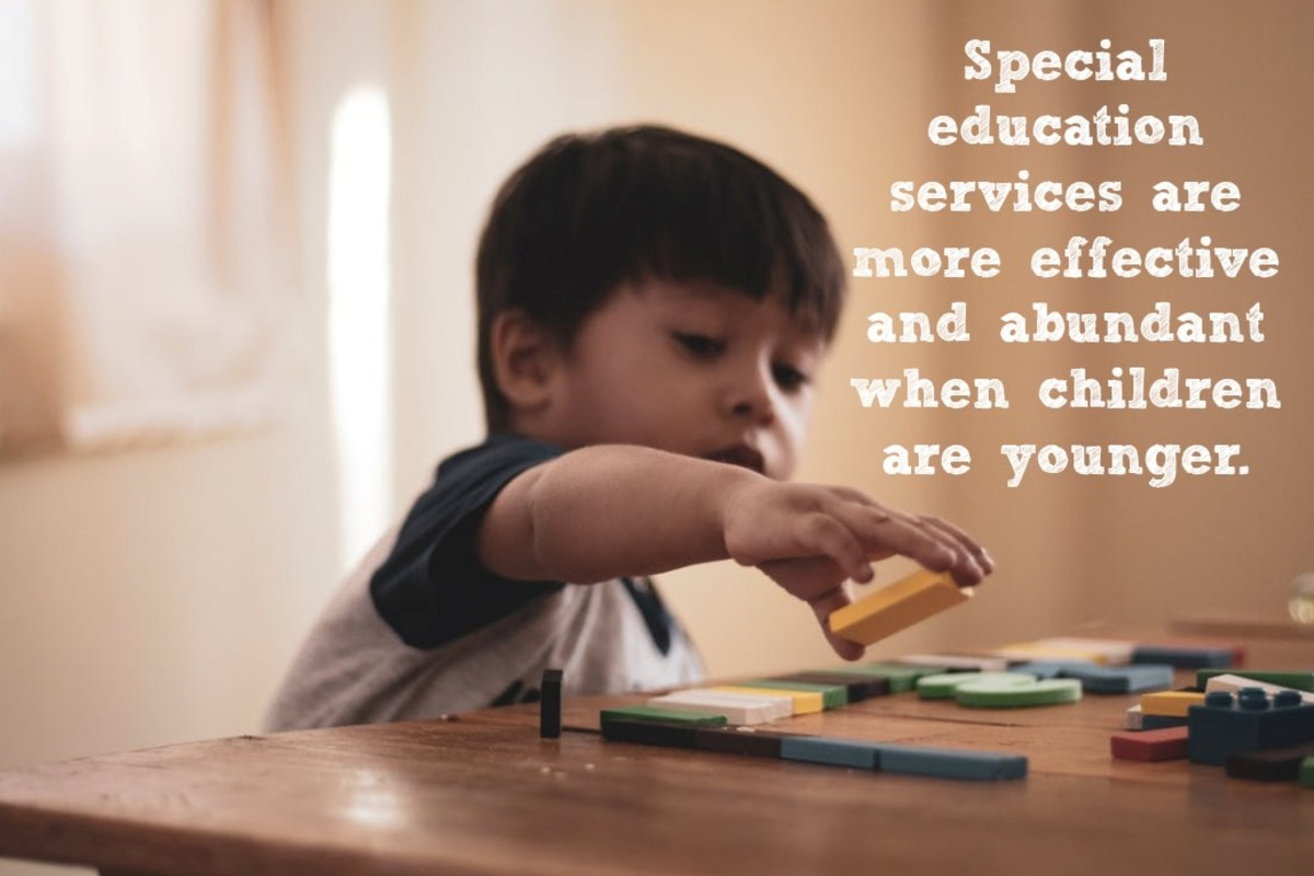 Special education services are plentiful for young children in many states but dry up when kids get older.