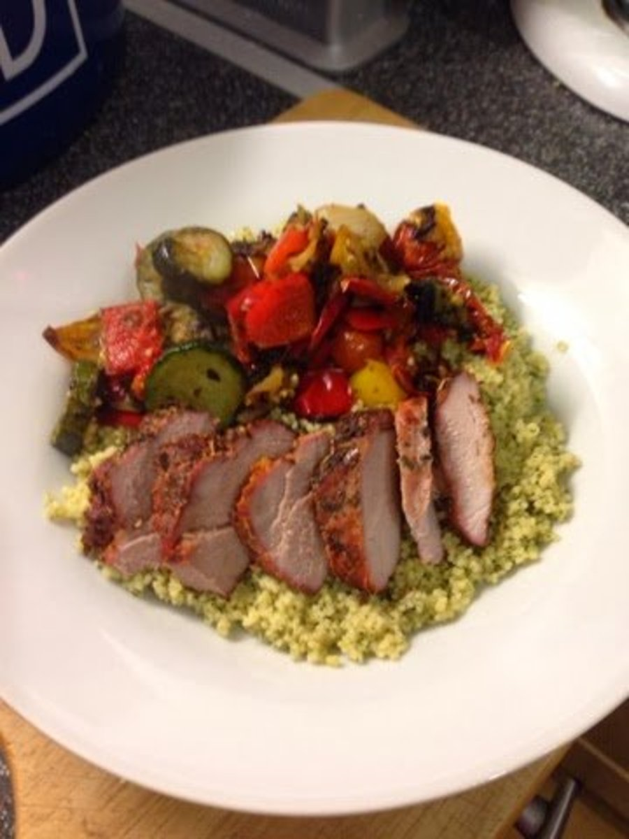 Syn-Free Slimming World Marinated Paprika Pork Tenderloin