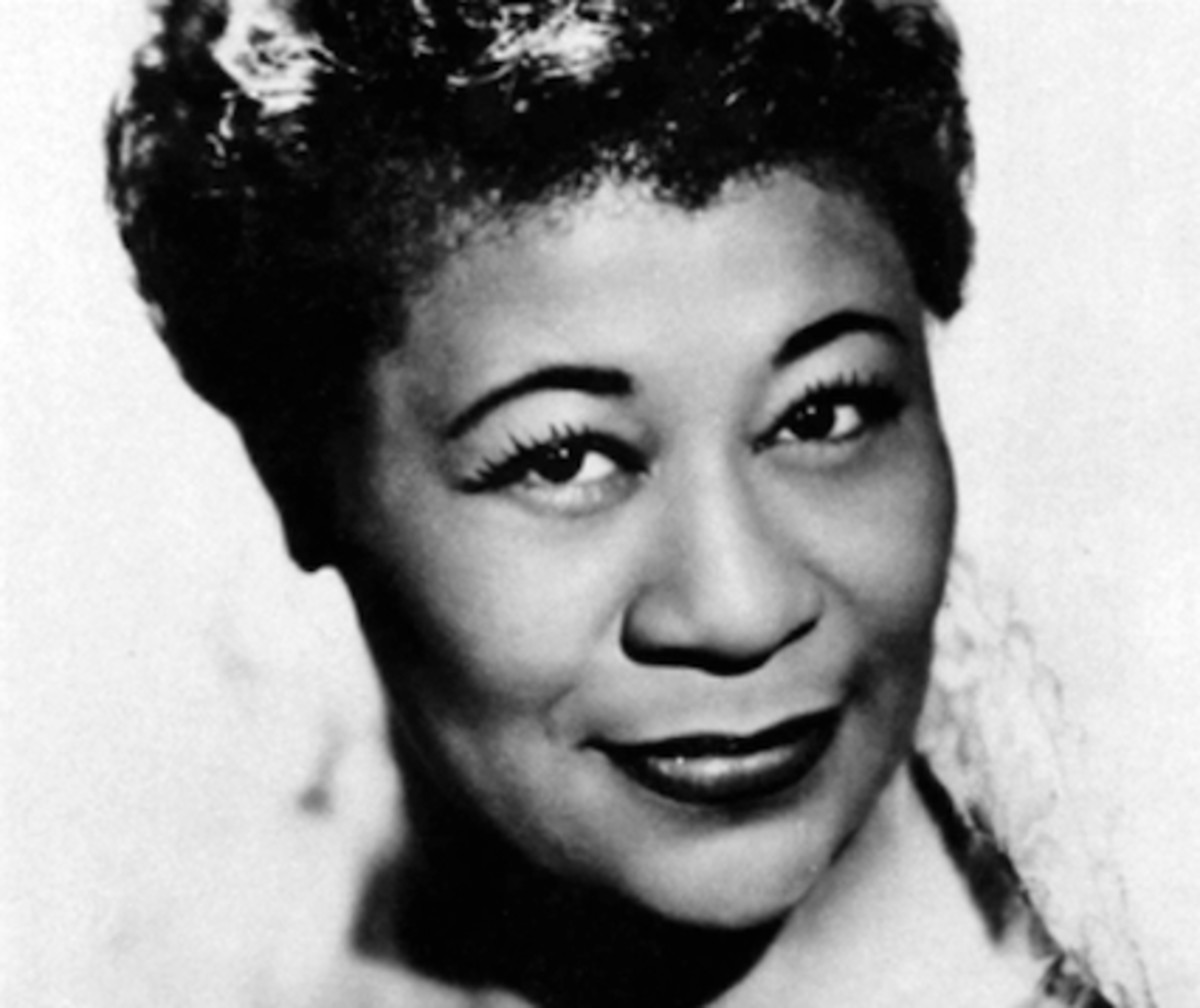 Ella Fitzgerald was one of the entertainers featured in the black, star-sudded Midnight Rambles.