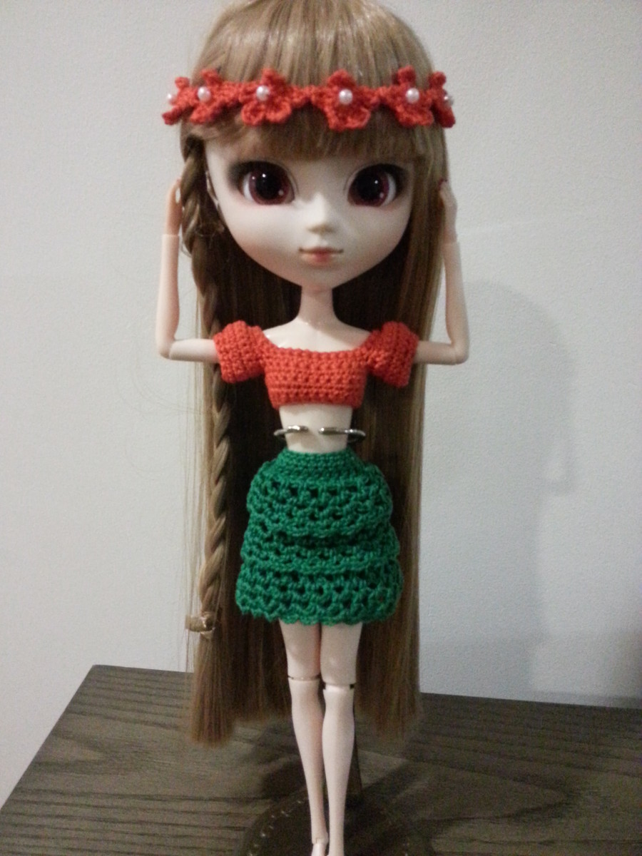 Pullip Fun in the Sun (Free Crochet Pattern)