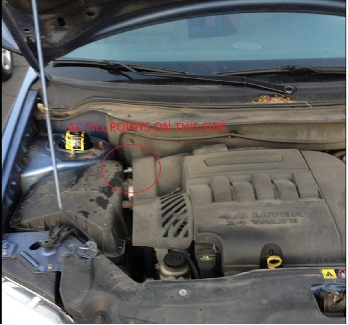 How to Add Refrigerant R-134a to a Chrysler Pacifica