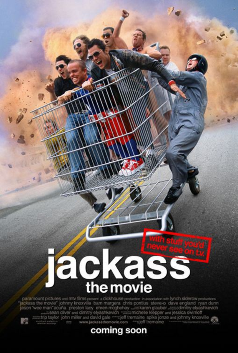 Poster for Jackass: The Movie