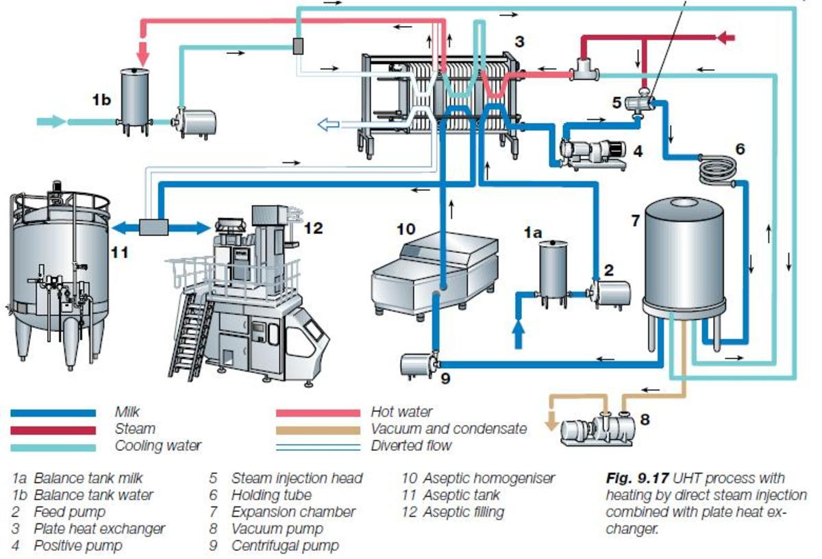 Consumer Goods Processing Plants : Uht processed aseptically packaged milk and its consumer