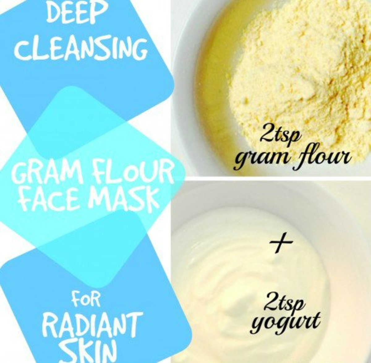 Top 3 Gram Flour Face Mask Recipes for Beautiful Skin
