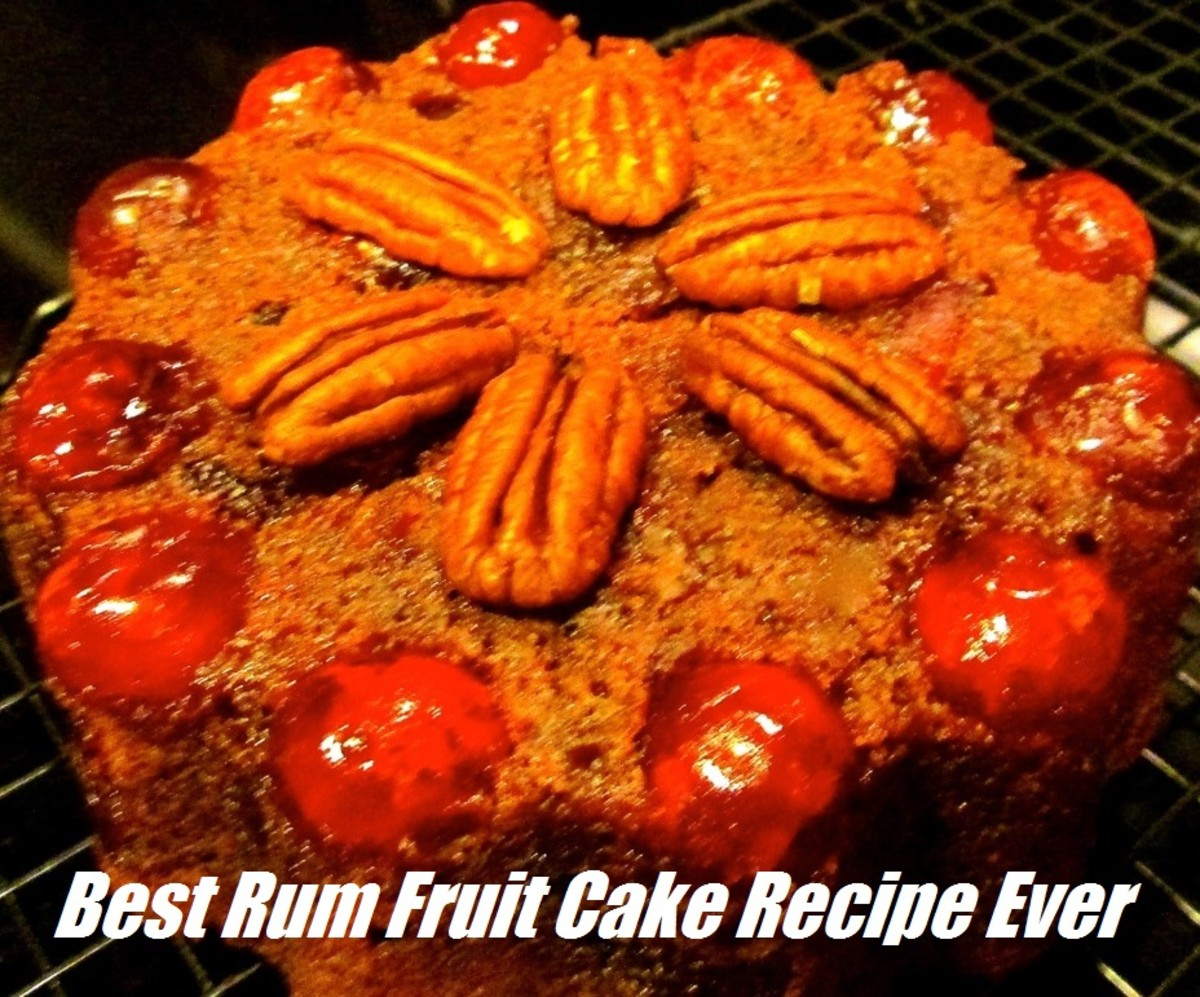 Best Rum Fruit Cake Recipe Ever