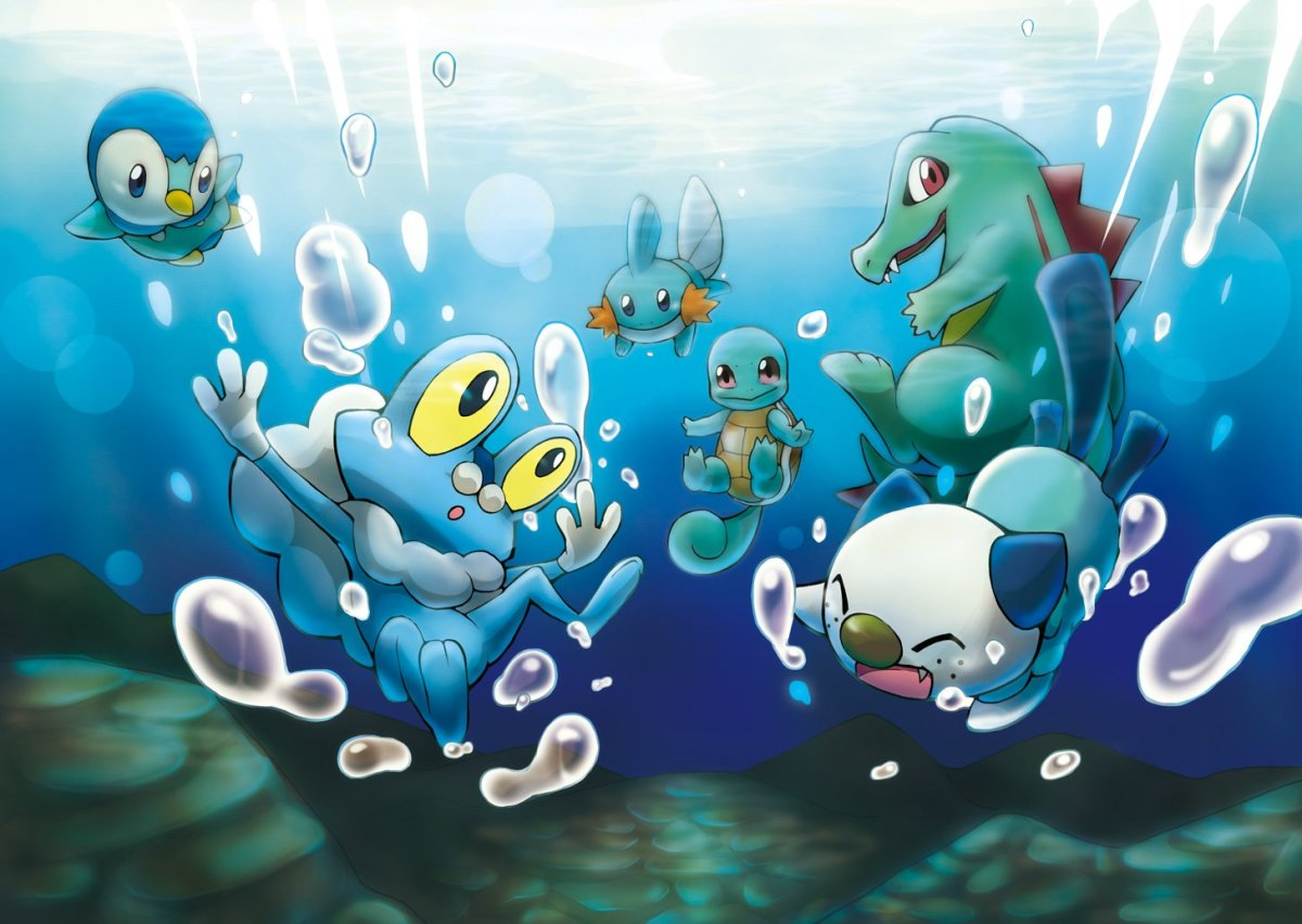 Water-type starters
