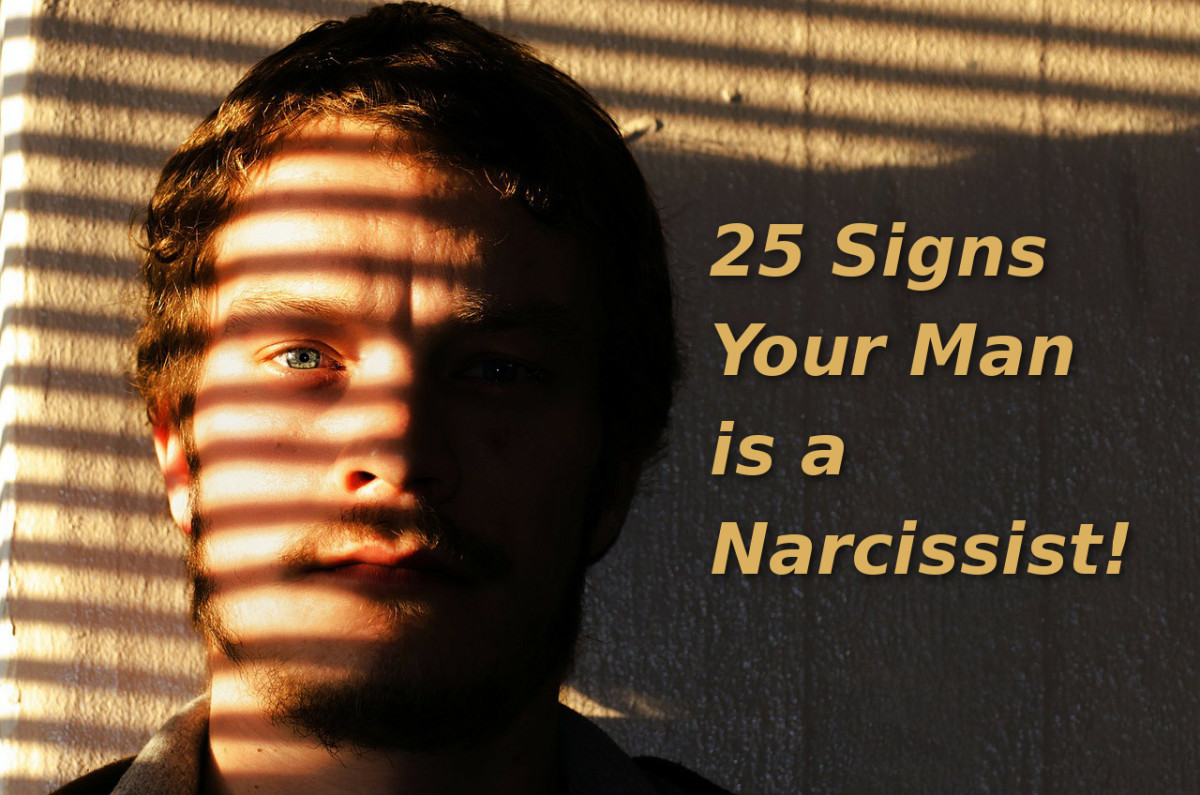 25 Signs Your Man Is a Narcissist