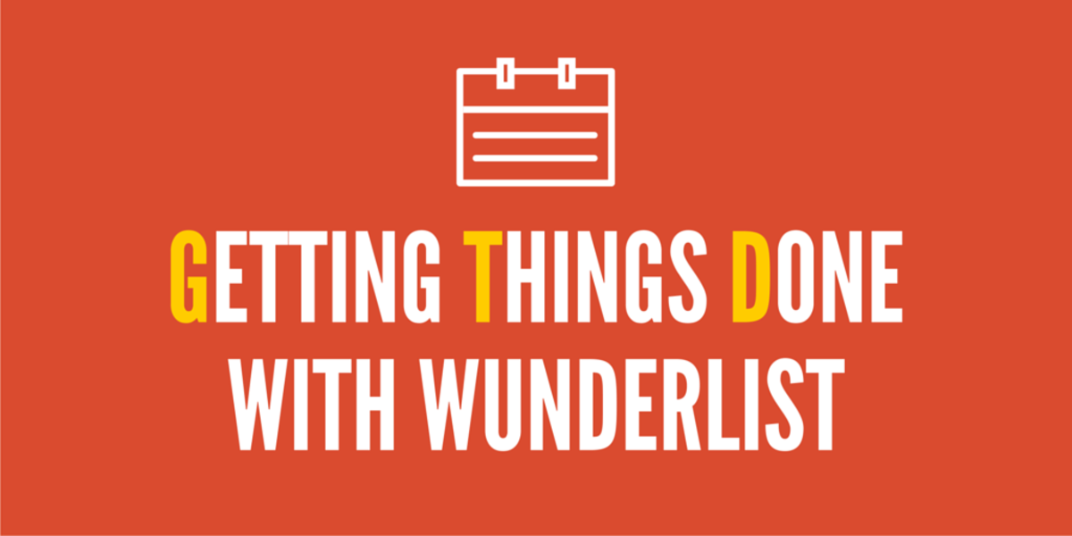 Getting Things Done (GTD) in Wunderlist
