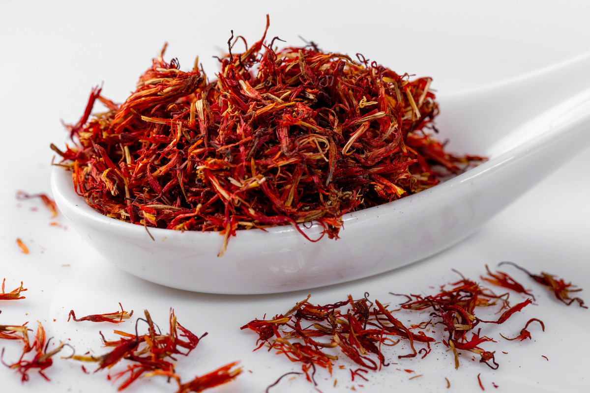 Saffron is an exotic face mask ingredient and beauty secret to glowing skin.