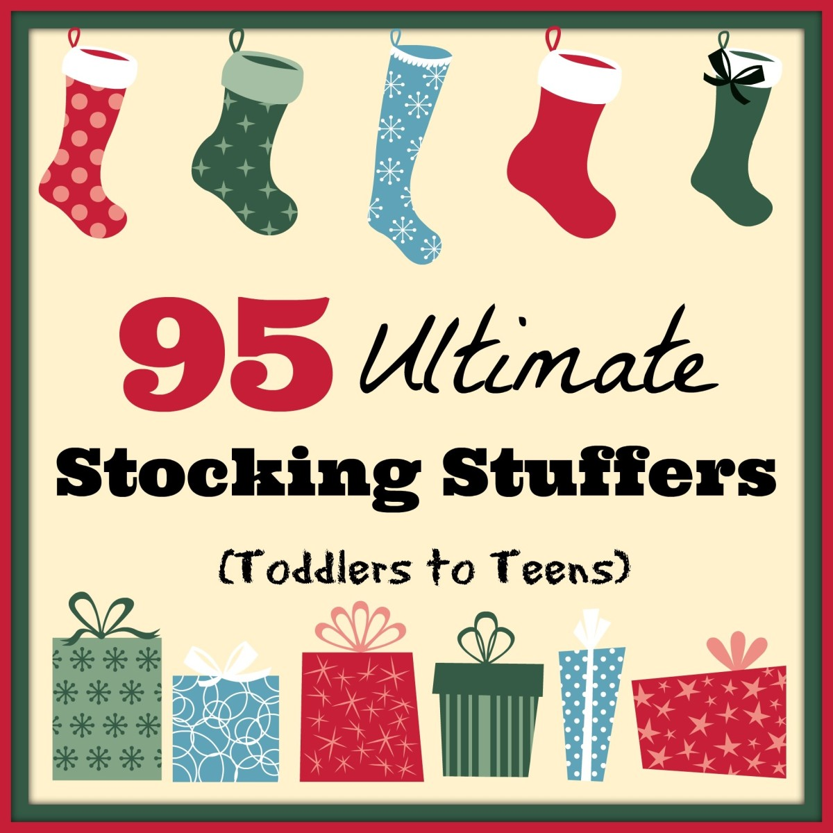 This guide will break down more than 95 great ideas for stocking stuffers for young children up through their teen years.