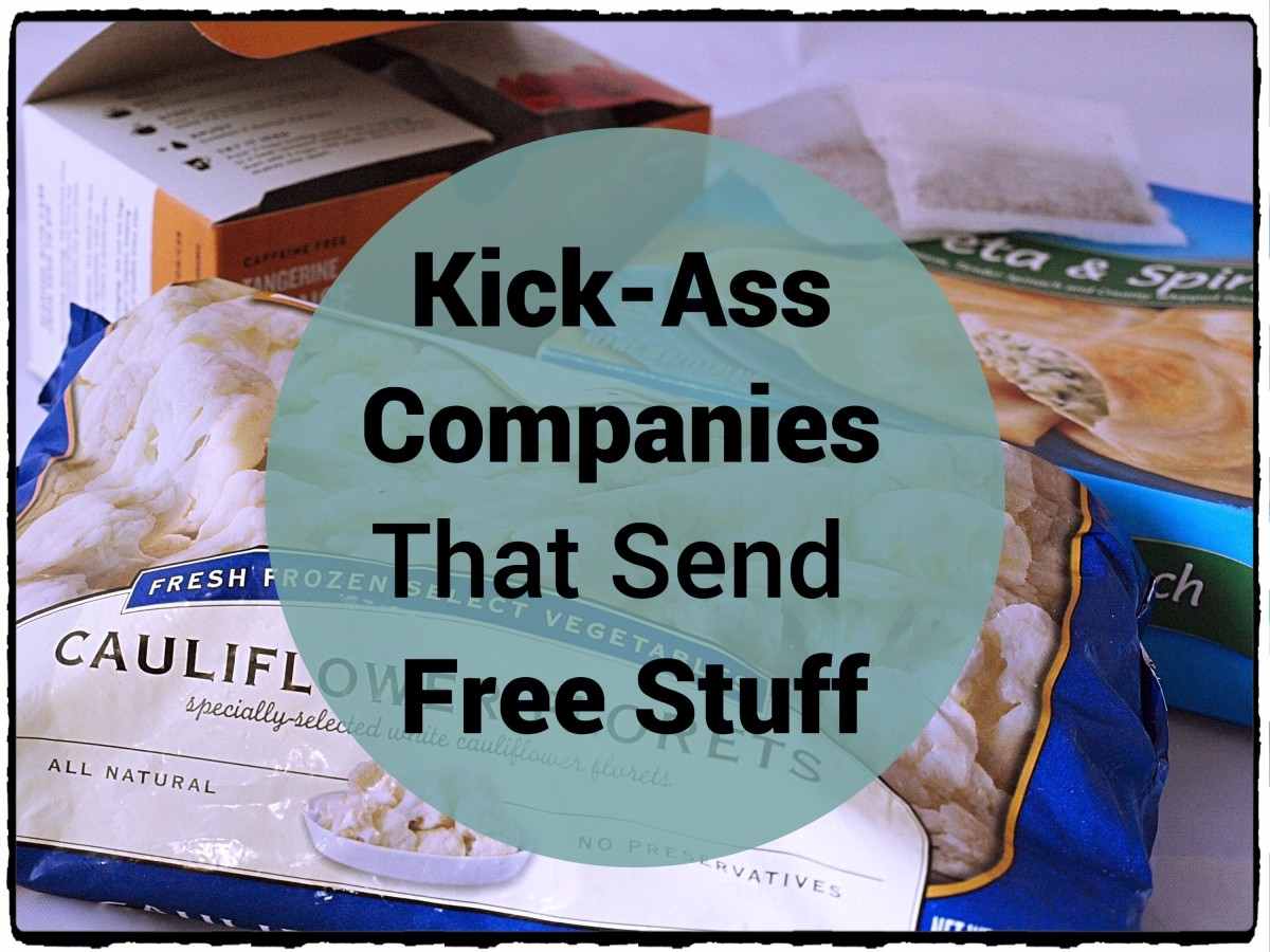 Find out which companies will send you free products!