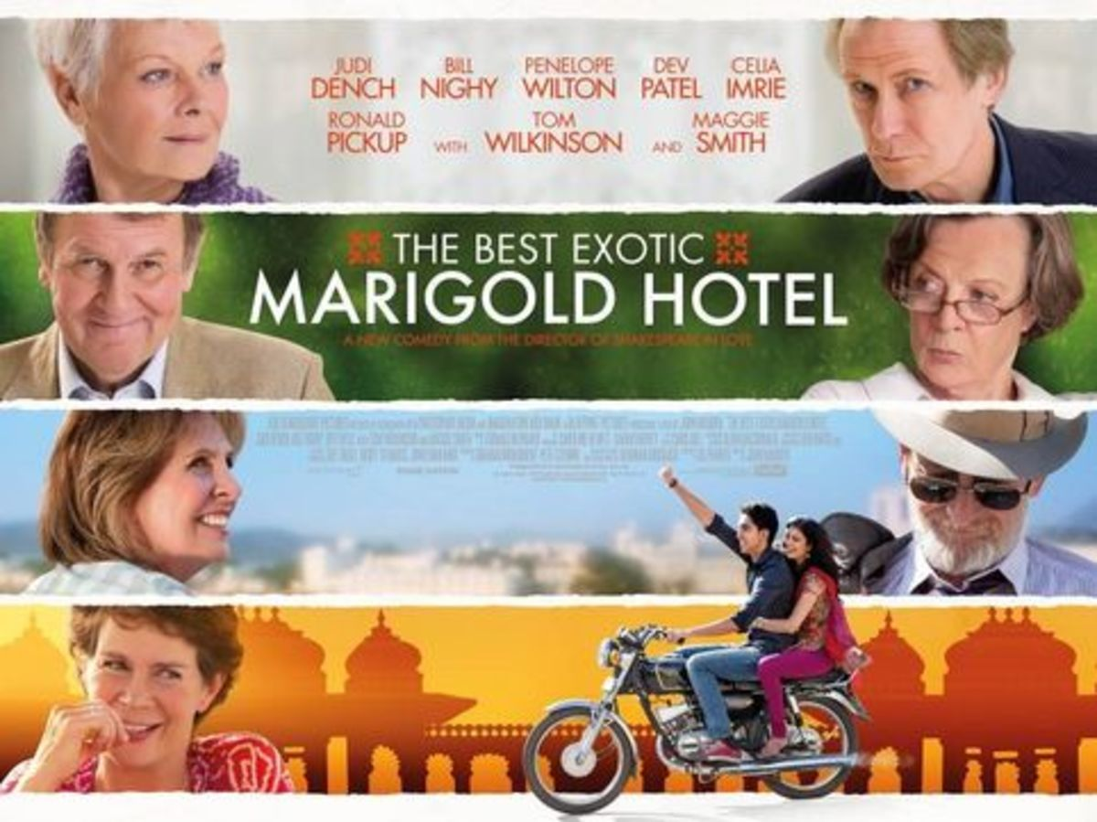 "Poster for ""The Best Exotic Marigold Hotel"""