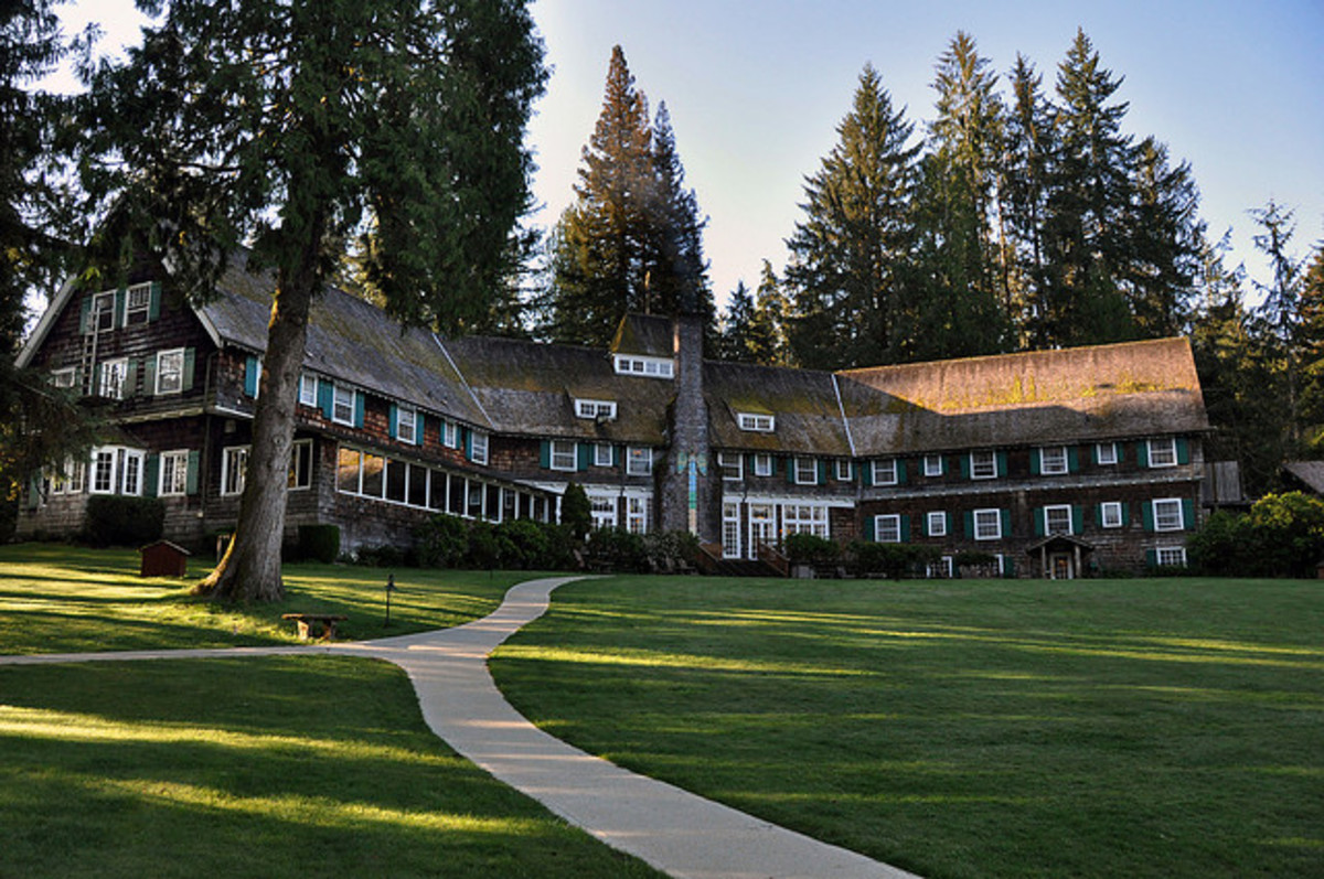 Explore Stunning Lake Quinault Lodge and Rain Forest, Then and Now