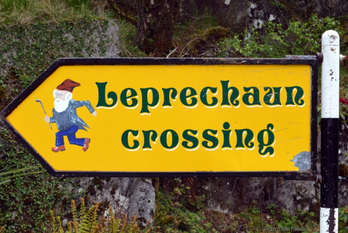 This sign warns drivers to be careful along one mountainous stretch of the Ring of Kerry.