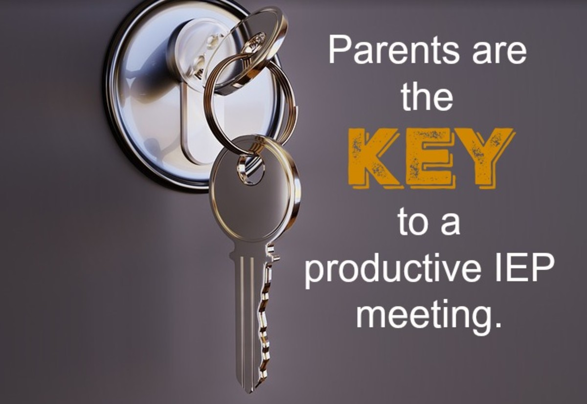 To get the best results, parents should come to an IEP meeting prepared to advocate for their child.