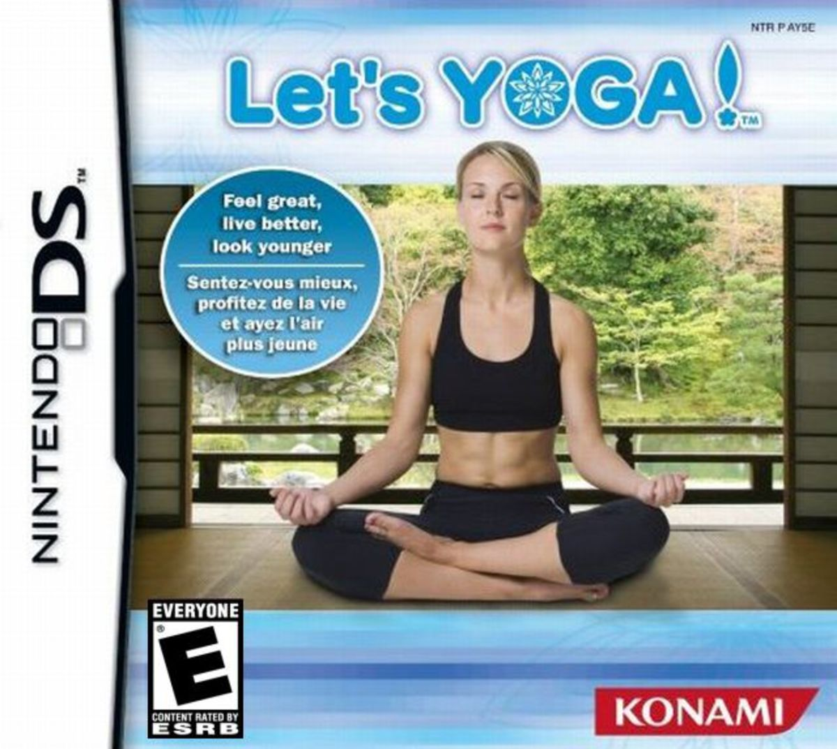 Let's Yoga is a portable fitness game for the Nintendo DS.