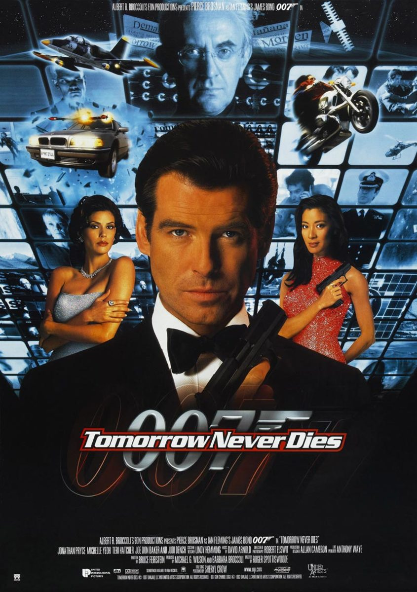 "Poster for ""Tomorrow Never Dies"""