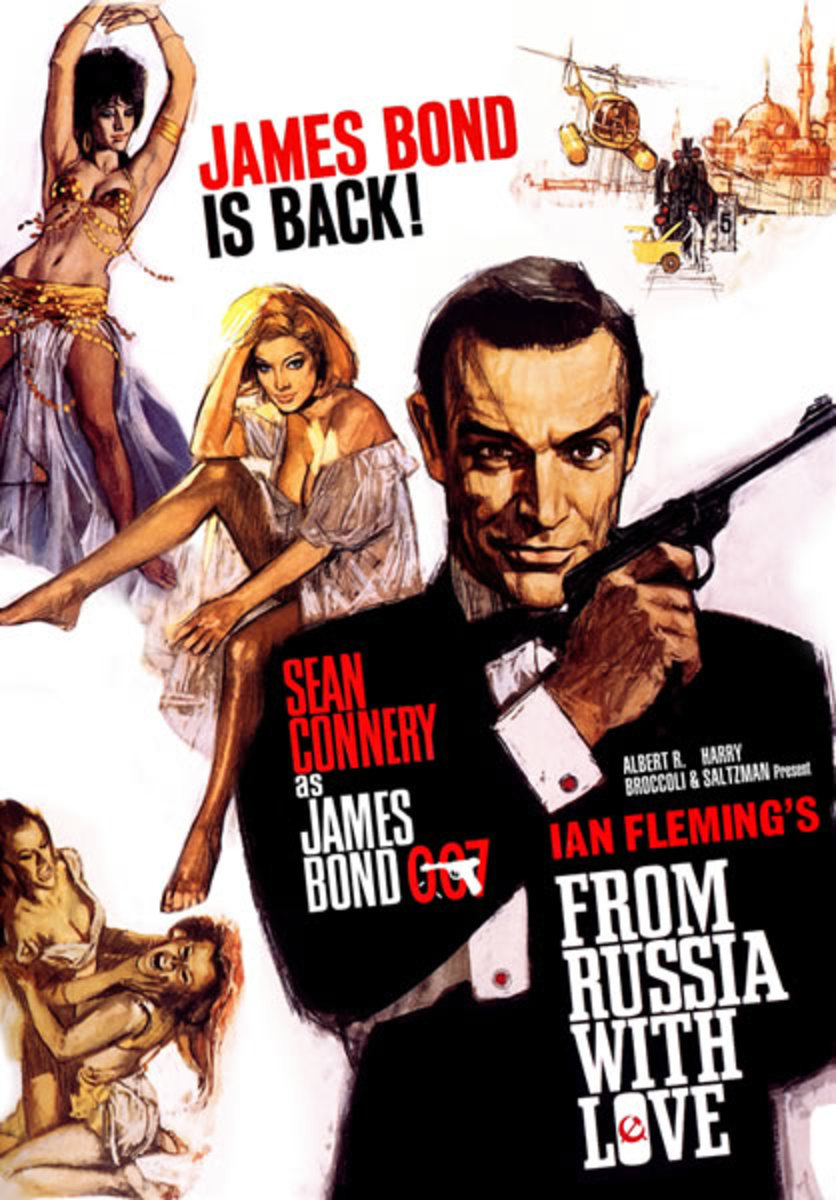 "Promotional poster for ""From Russia With Love"""