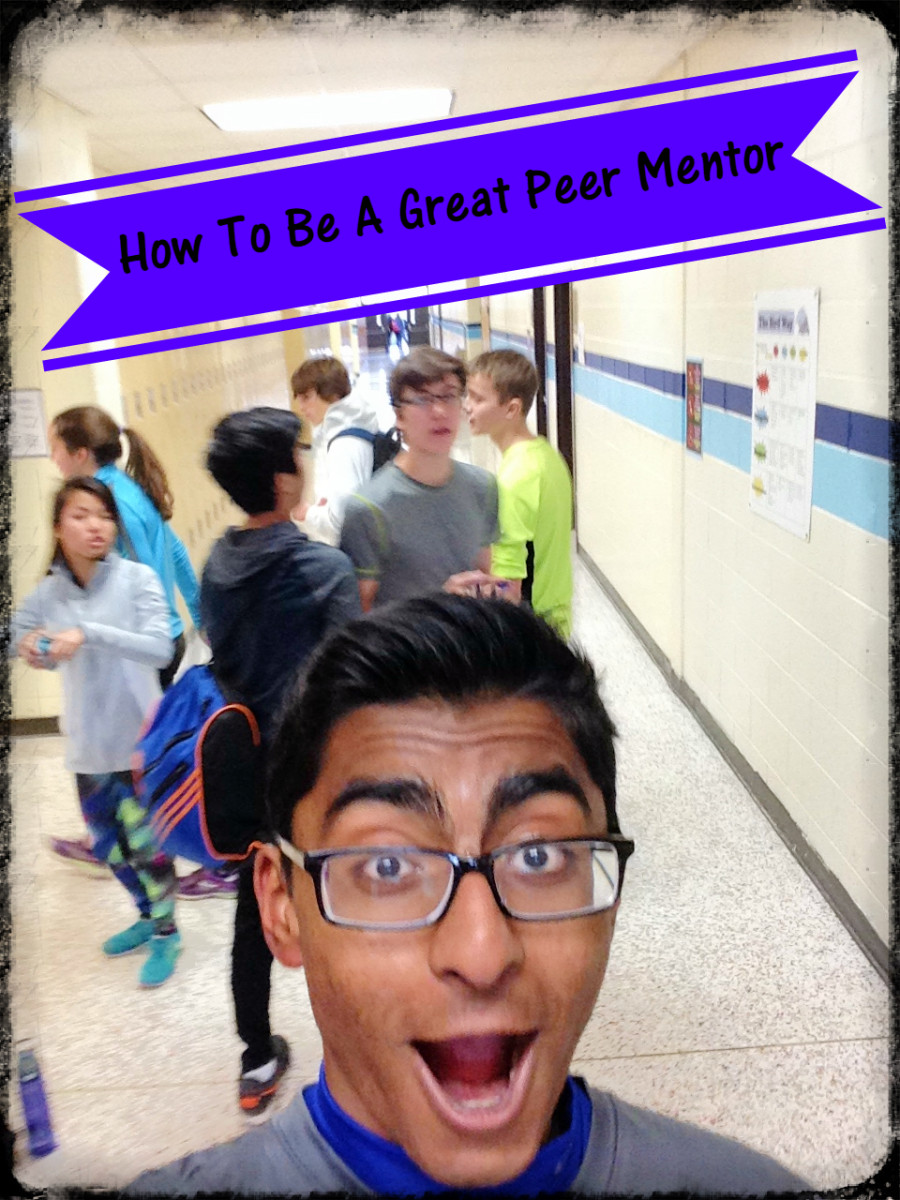 Congratulations!  You're a peer mentor!  Now what do you do?  Here's how to make a new student's transition smoother.