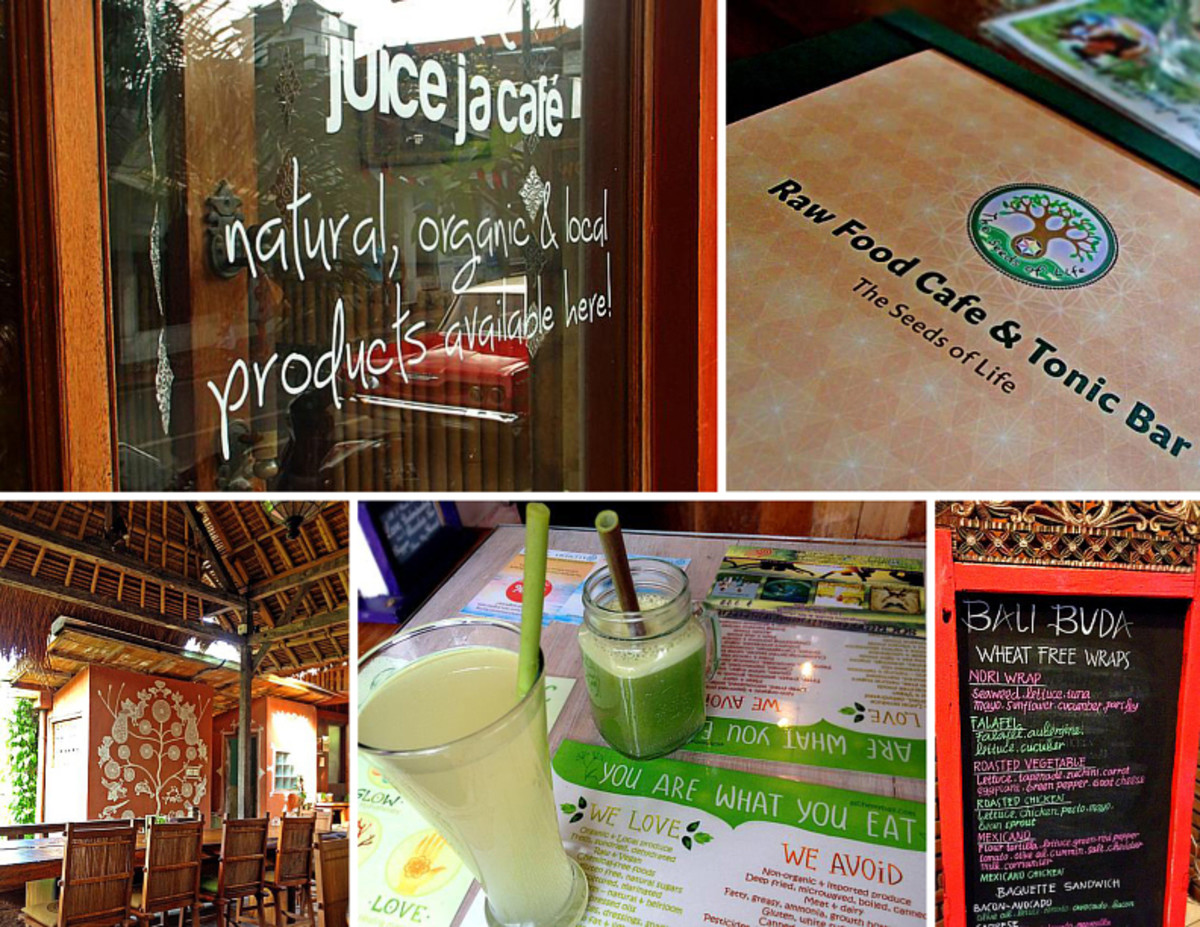 Healthy Dining in Ubud, Bali: 8 Natural & Organic Restaurants