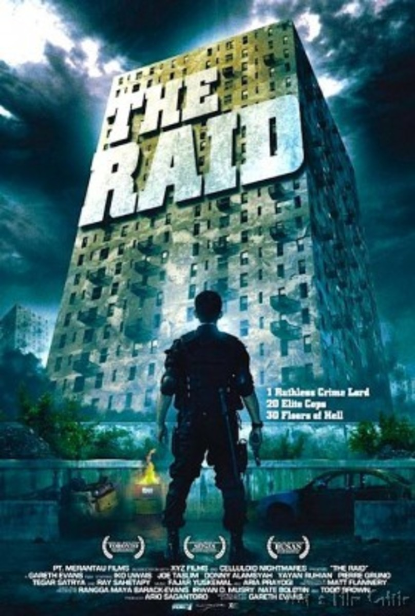 """Poster for """"The Raid"""""""