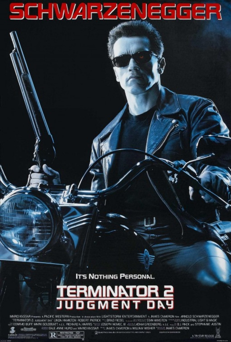 """Poster for """"Terminator 2: Judgment Day"""""""