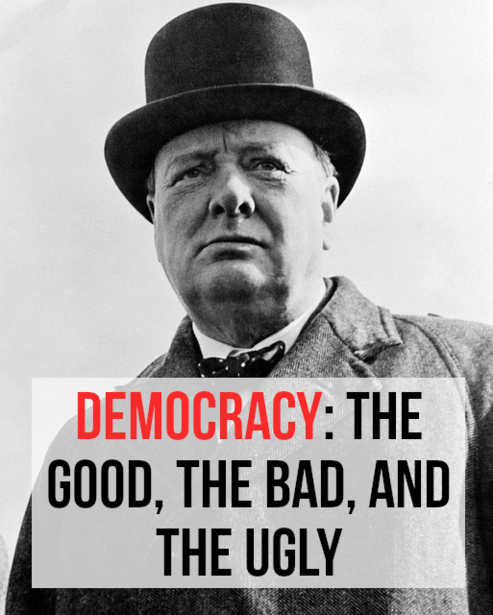 Winston Churchill is generally considered to be one of the greatest democratic wartime leaders of the 20th Century.  Churchill was well aware of its shortcomings, but believed it to be the best political system. Read on for my pros and cons.