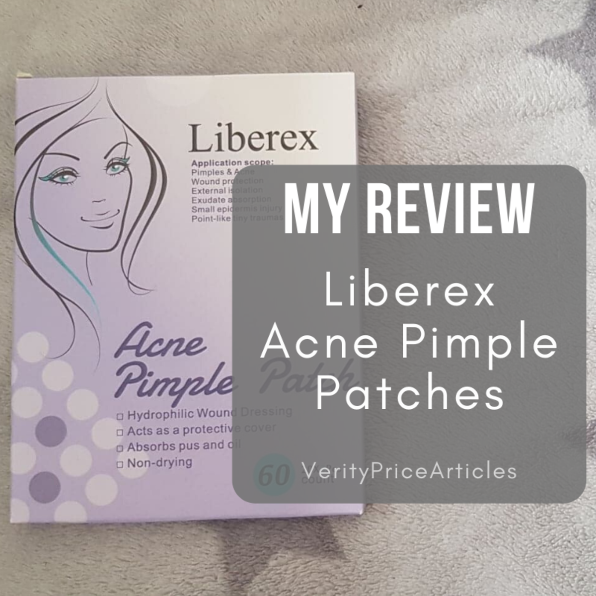My Review of the Liberex Acne Pimple Patches