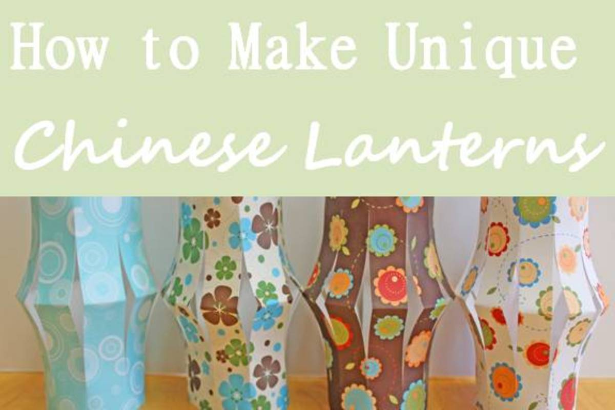 How to Make Unique Chinese Paper Lanterns