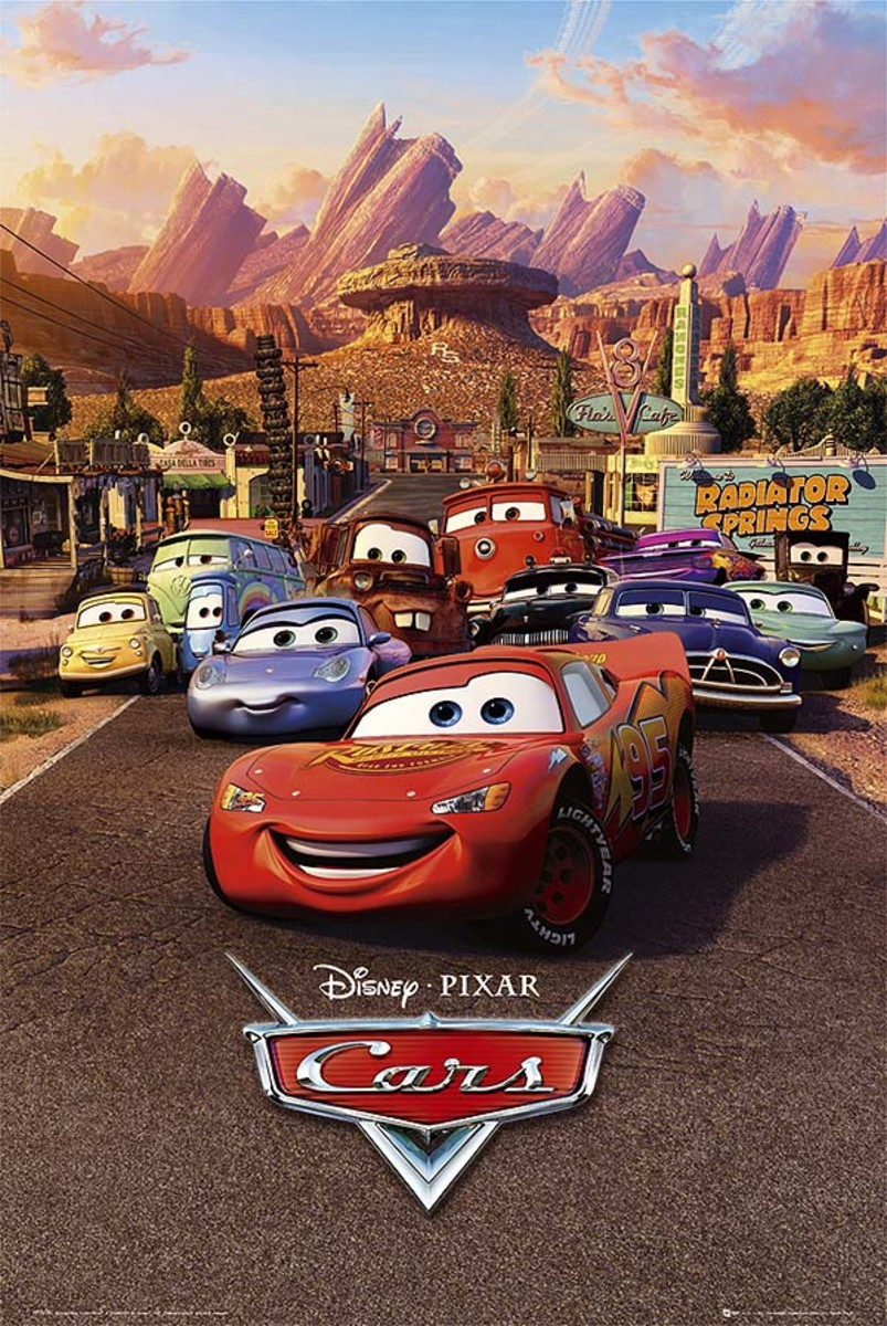 """Promotional poster for """"Cars"""""""