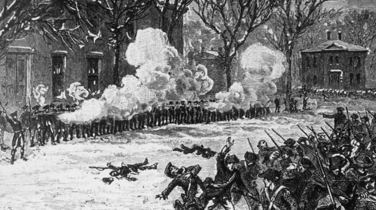 American Revolution Inspired Shays Rebellion