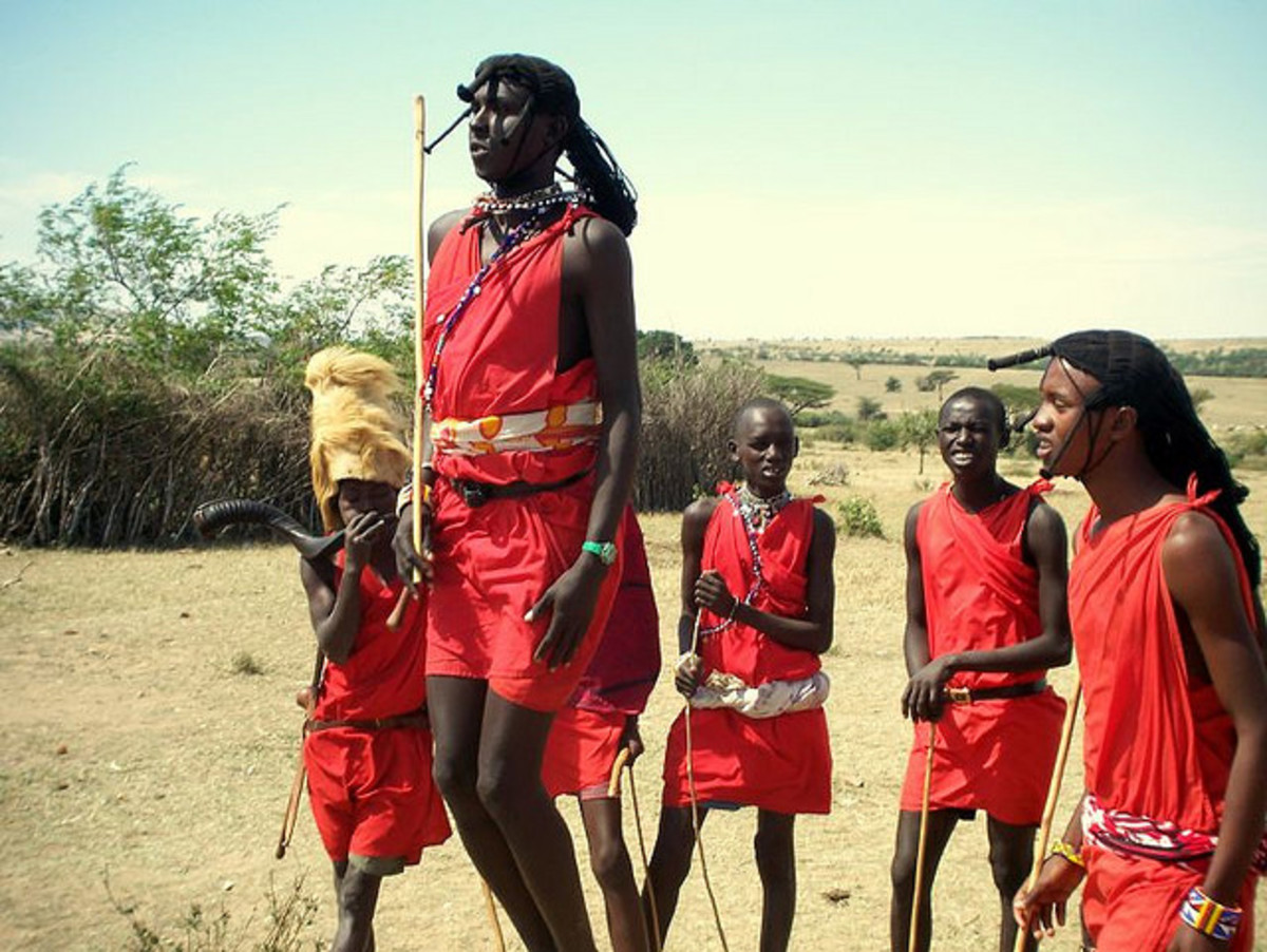 Maasai Warriors