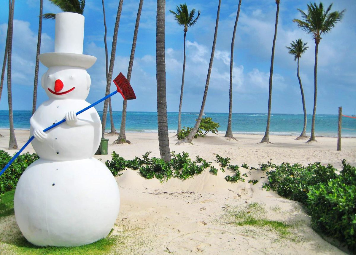 Christmas Lyrics and Laughs From the Caribbean