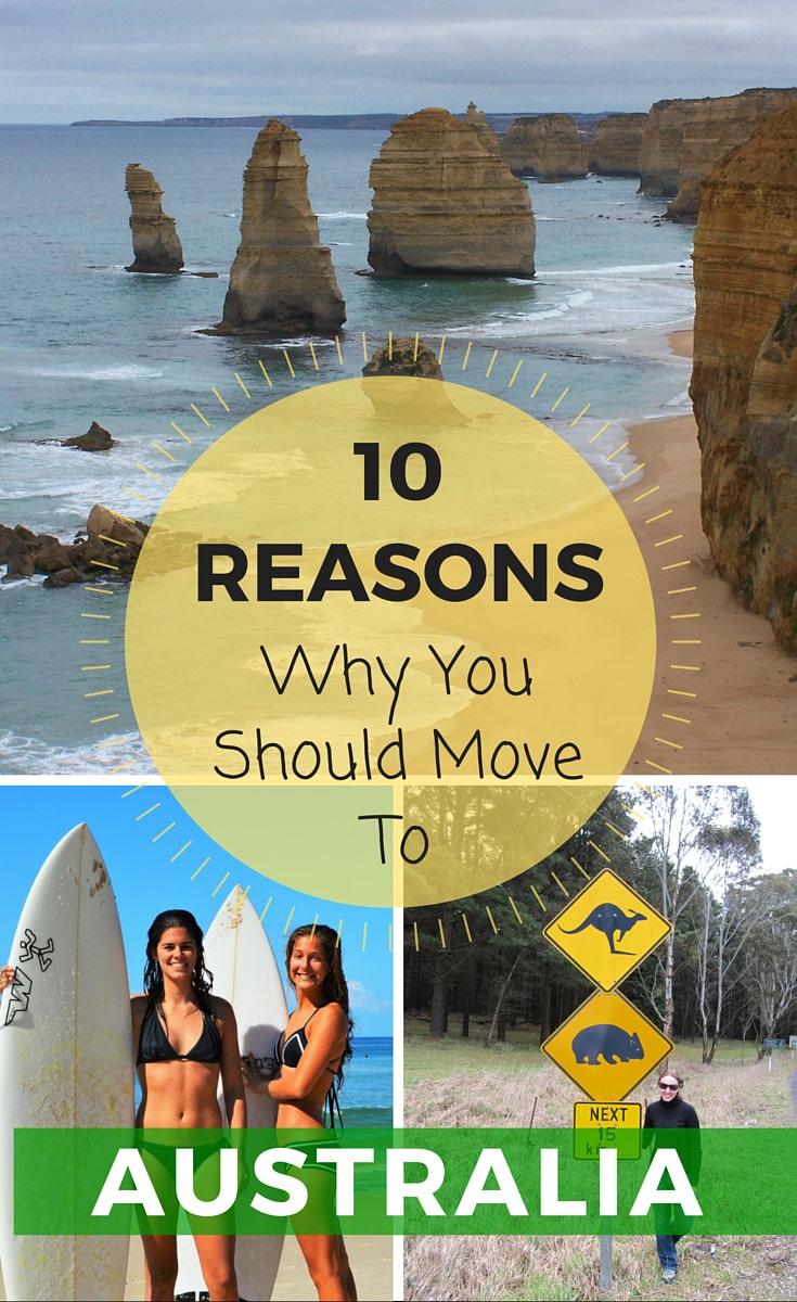 10 Reasons You Should Move to Australia