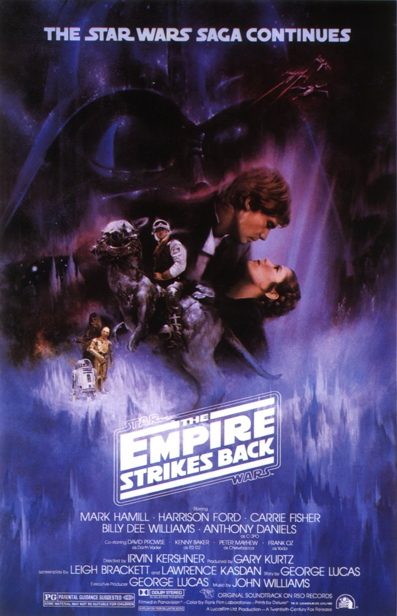 "Poster for ""Star Wars: Episode V - The Empire Strikes Back"""