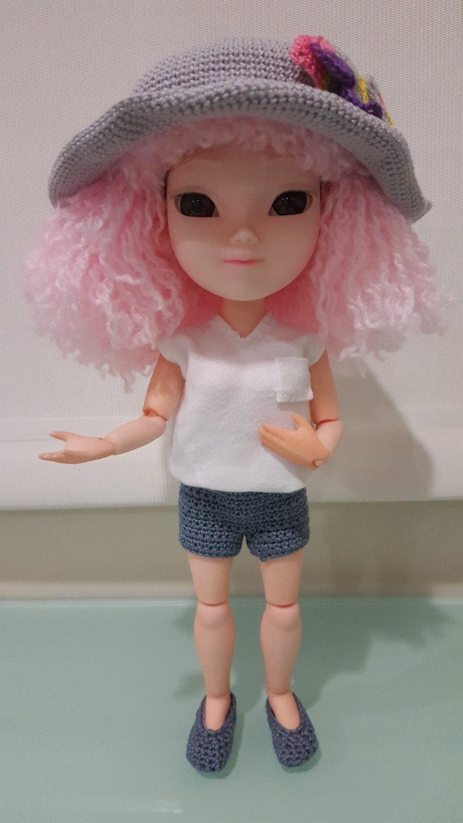 How to Make Doll Shorts or Pants