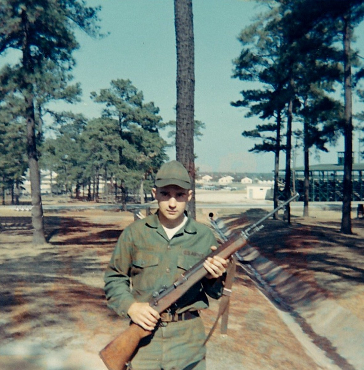 My brother, taken in Fort Jackson, SC during basic training.