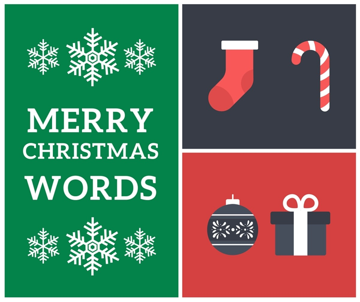 111 Merry Christmas Words for Word Games