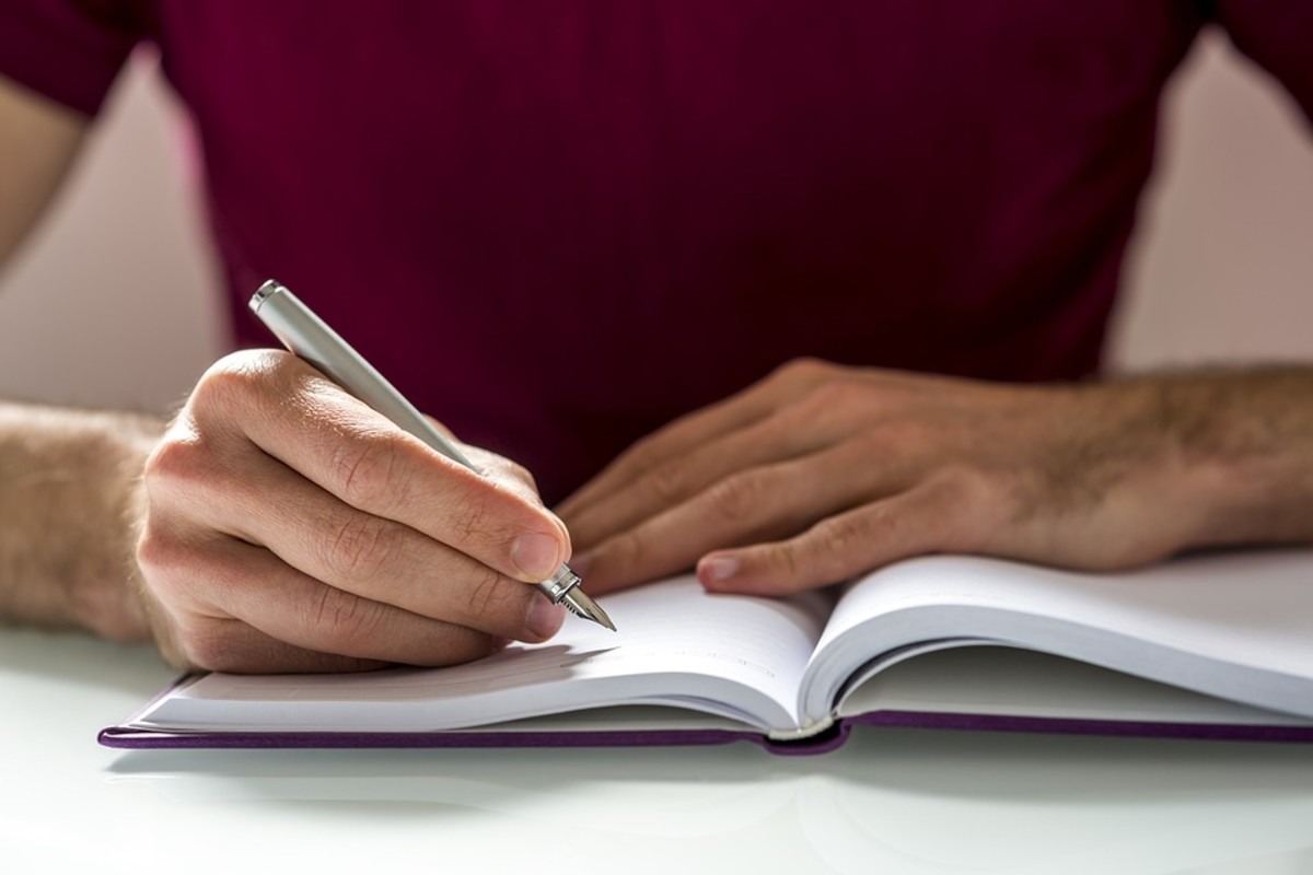 Writing in a journal is a great way to move forward as you start to break free from perfectionism.