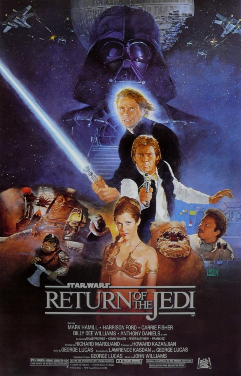"Poster for ""Star Wars: Episode VI - Return Of The Jedi"""