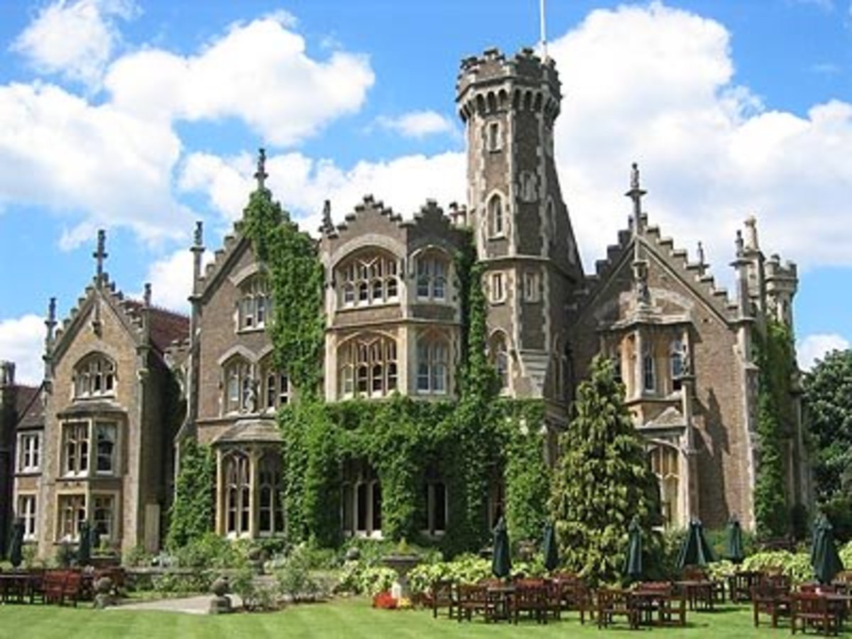 The Oakley Court Hotel near Windsor.  Is this one of England's most haunted houses?