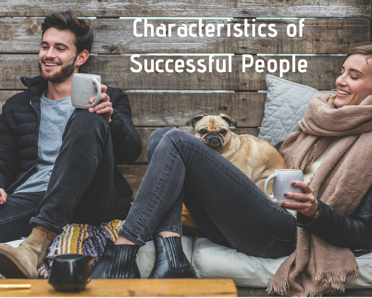 Successful people share specific characteristics.