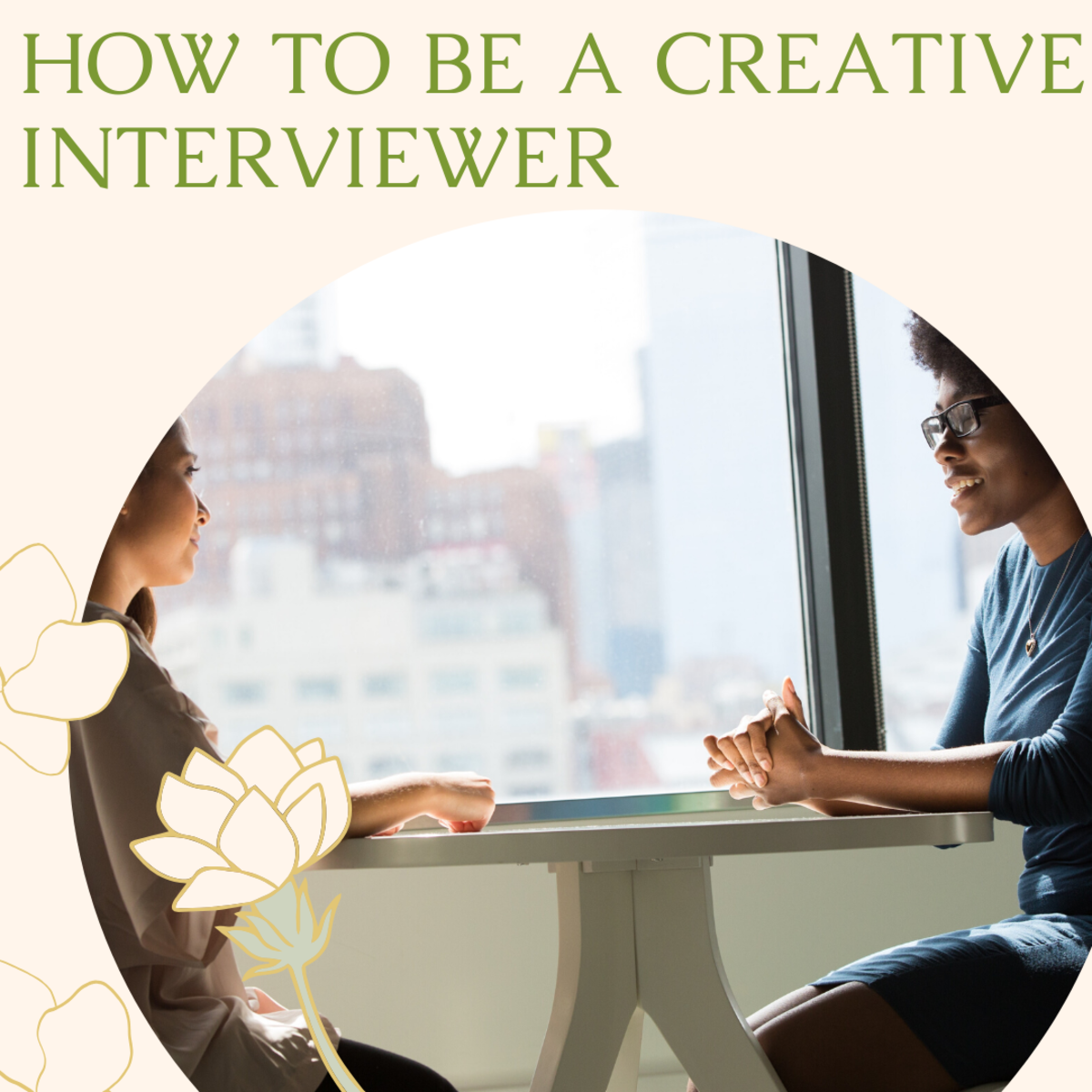 How to Be Creative When Interviewing Authors