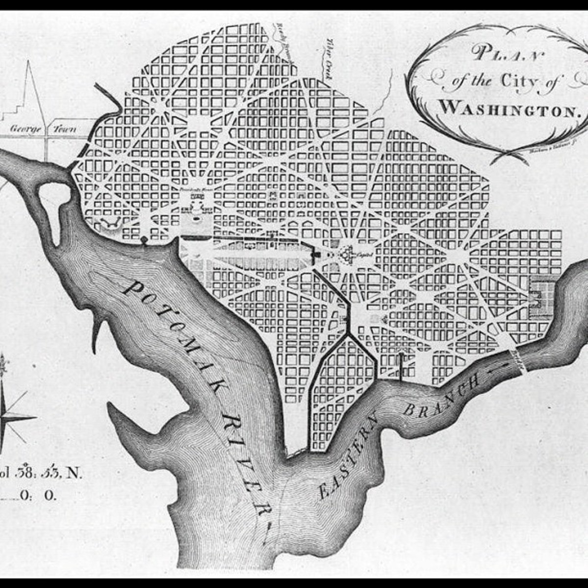 The Design of Washington, D.C.