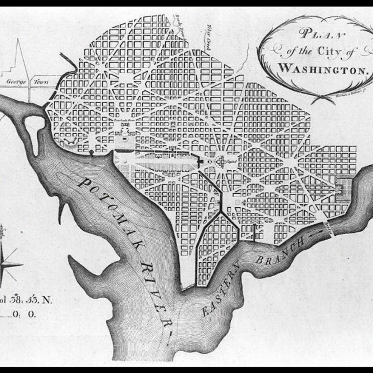 The Design of Washington, D.C.   Owlcation