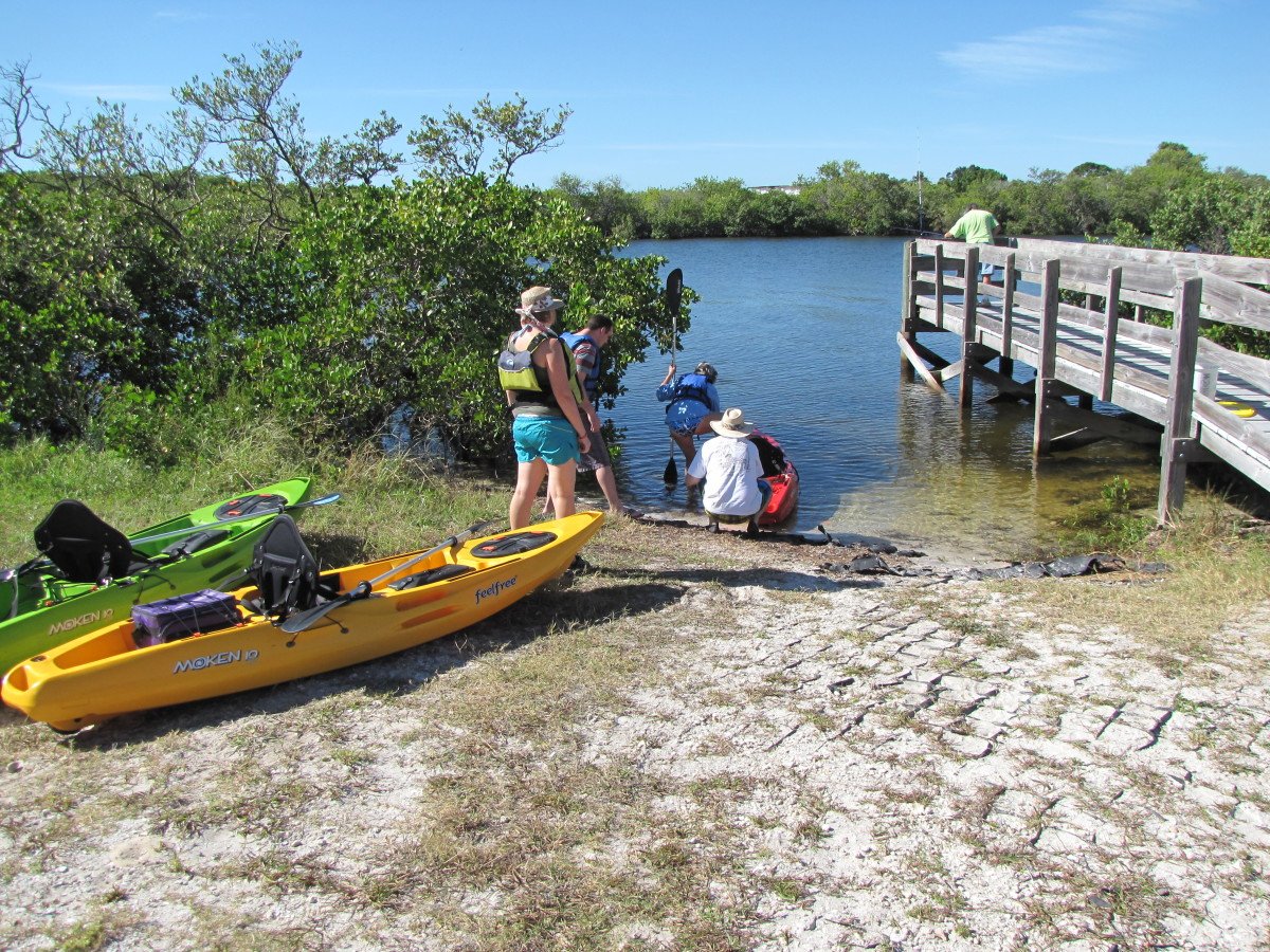 Kayaking the Anclote River Park - Holiday, Florida