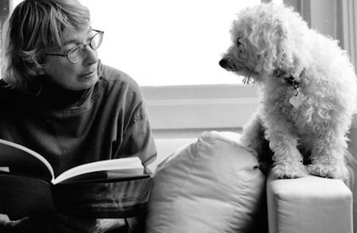 Mary Oliver and Friend