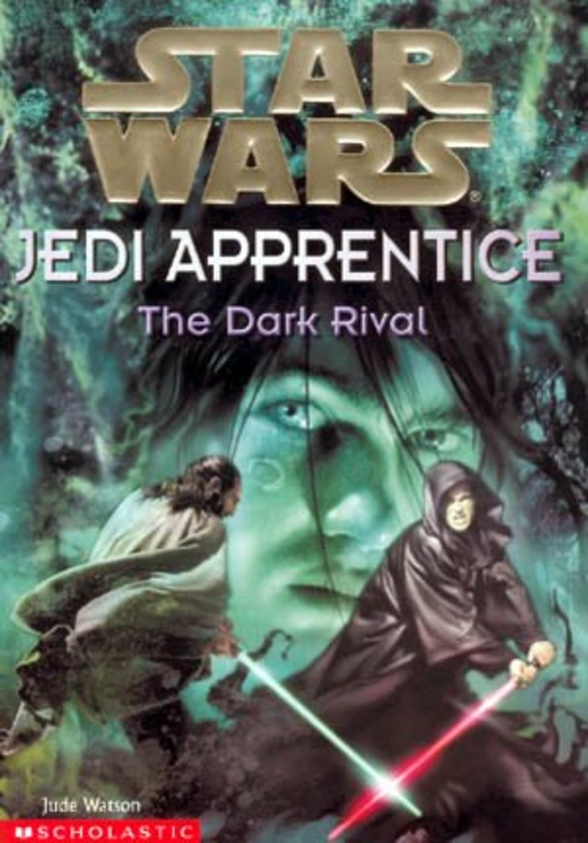 """The Dark Rival"" is the second book from ""Jedi Apprentice."""