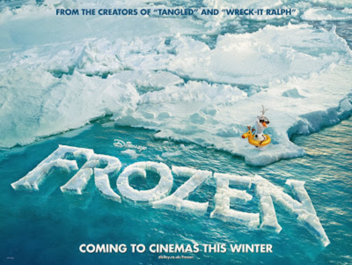 "Promotional poster for ""Frozen"""